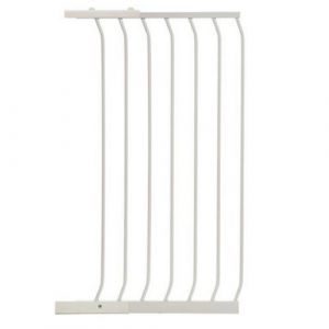 Extra Tall Arch Top Pressure Fit Pet Gate White Extension 54cm