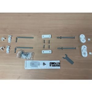 Bettacare Eco Screw Fit Tall Gate White Fitting Kit