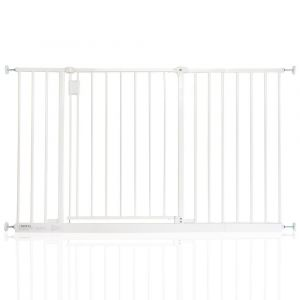 Bettacare Extra Wide Hallway Pet Gate White 121.8cm - 127.8cm