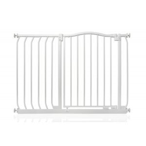 Bettacare Matt White Curved Top Pet Gate 98cm - 107cm