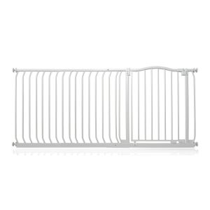 Bettacare Matt White Curved Top Pet Gate 171cm - 180cm