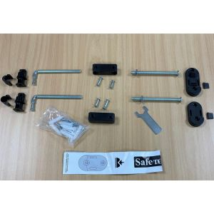 Bettacare Eco Screw Fit Gate Black Fitting Kit
