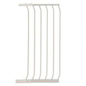 Extra Tall Arch Top Pressure Fit Pet Gate White Extension 45cm