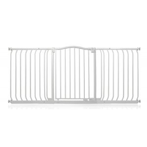 Bettacare Matt White Curved Top Pet Gate 161cm - 170cm