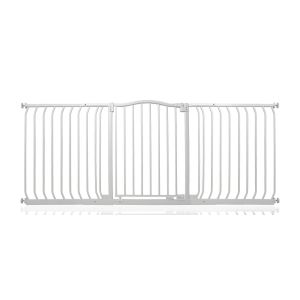 Bettacare Matt White Curved Top Pet Gate 179cm - 188cm