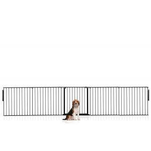 Bettacare Multi Panel Pet Barrier Black Up to 360cm