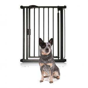 Bettacare Auto Close Extra Narrow Pet Gate Matt Black 61-66.5cm