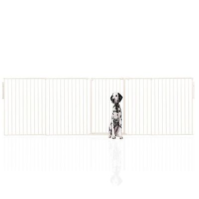 Bettacare Extra Tall Multi Panel Pet Barrier White upto 334cm