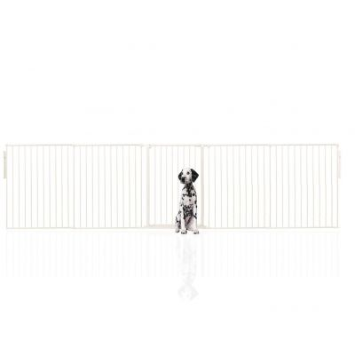 Bettacare Extra Tall Multi Panel Pet Barrier White upto 360cm