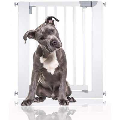 Bettacare Chunky Wooden Pressure Fit Pet Gate White 74cm - 81cm