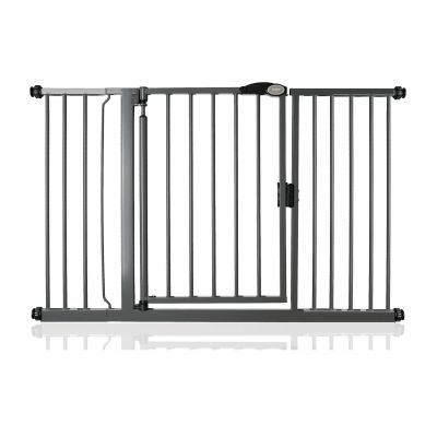Bettacare Auto Close Slate Grey Pet Gate 132.6cm - 139.6cm