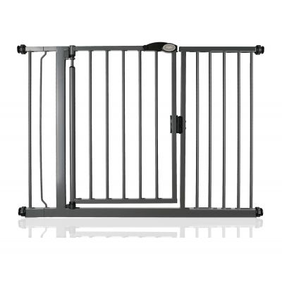 Bettacare Auto Close Slate Grey Pet Gate 118.2cm - 125.2cm