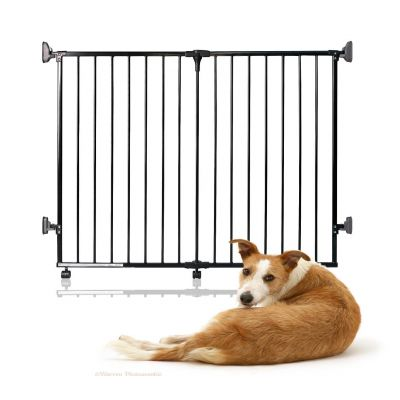 Bettacare Foldaway Pet Gate Black 60cm - 125cm