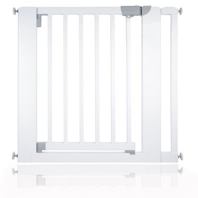 Bettacare Chunky Wooden Pressure Fit Pet Gate White 81cm - 89cm