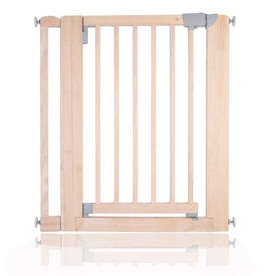 Bettacare Chunky Wooden Pressure Fit Pet Gate Natural 81cm - 89cm