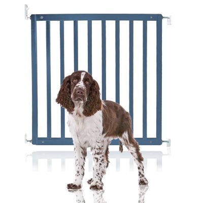Bettacare Simply Secure Wooden Pet Gate Azure Blue 72cm - 79cm