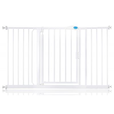 Bettacare Auto Close Pet Gate White 139.8cm - 146.8cm