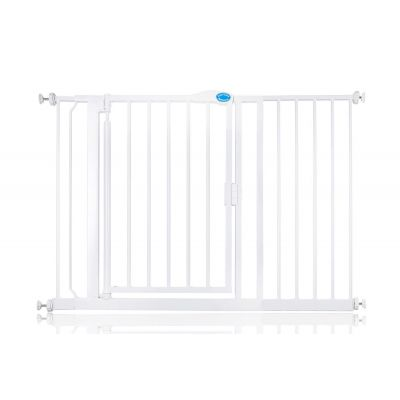 Bettacare Auto Close Pet Gate White 118.2cm - 125.2cm