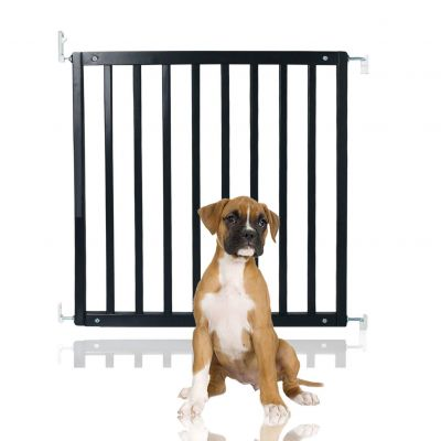 Bettacare Simply Secure Wooden Pet Gate Black 72cm - 79cm