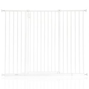 Bettacare Extra Tall Hallway Pet Gate White 109.4cm - 115.4cm
