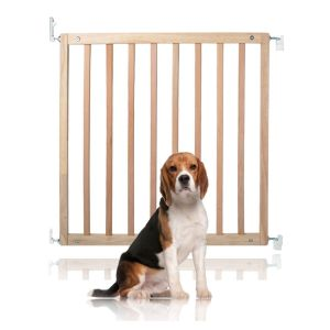 Bettacare Simply Secure Wooden Pet Gate Natural 72cm - 79cm