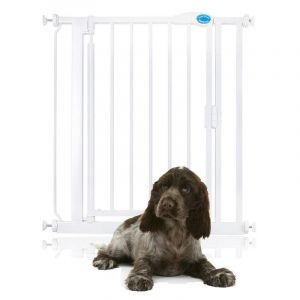 Bettacare Auto Close Pet Gate White Standard 75cm - 82cm