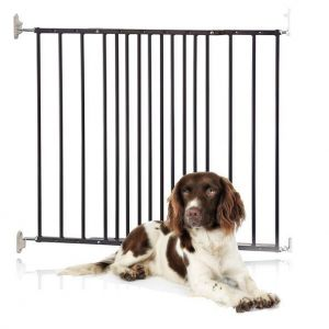 Bettacare Extending Metal Pet Gate Black 62.5cm - 106.8cm