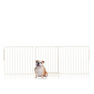 Bettacare Multi Panel Pet Barrier White Up to 216cm