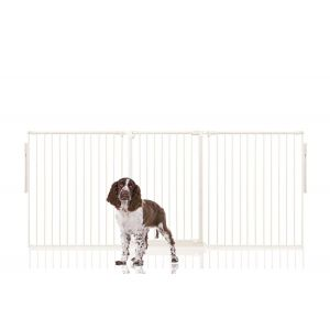 Bettacare Extra Tall Multi Panel Pet Barrier White upto 216cm