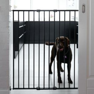Bettacare Extra Tall Screw Fitted Pet Safety Gate Black