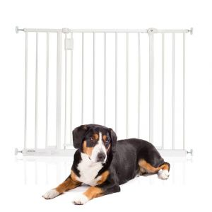 Bettacare Extra Wide Hallway Pet Gate White 97cm - 103cm