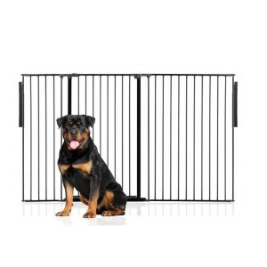 Bettacare Extra Tall Multi Panel Pet Barrier Black upto 190cm