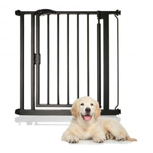 Bettacare Auto Close Standard Pet Gate Matt Black 75-82cm
