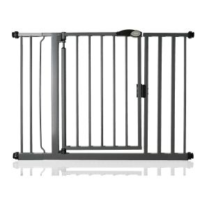 Bettacare Auto Close Slate Grey Pet Gate 103.8cm - 110.8cm