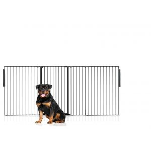 Bettacare Extra Tall Multi Panel Pet Barrier Black upto 262cm