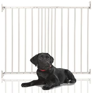 Bettacare Extending Metal Pet Gate White 62.5cm - 106.8cm