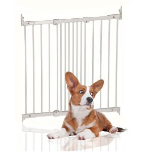 Bettacare Diagonal Fit Pet Stair Gate White