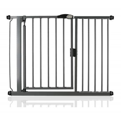 Bettacare Auto Close Slate Grey Pet Gate 111cm - 118cm