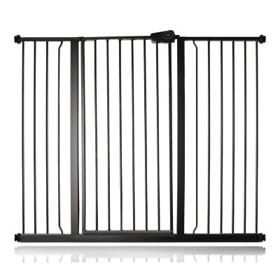 Bettacare Child and Pet Gate Matt Black 126.7cm - 134.3cm