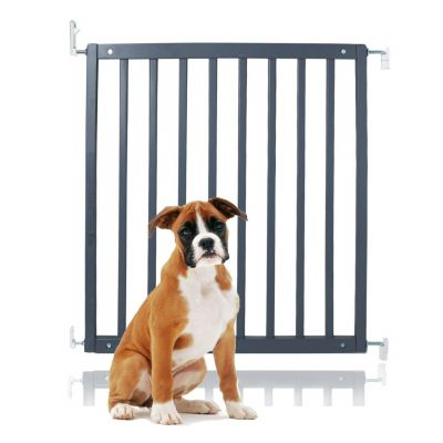 Bettacare Simply Secure Wooden Pet Gate Grey 72cm - 79cm