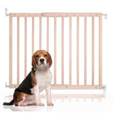 Bettacare Chunky Wooden Screw Fit Gate Natural 63.5-105.5cm