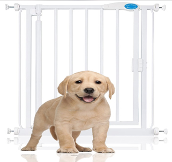 HOW TO TRAIN YOUR PUPPY USING A DOG GATE